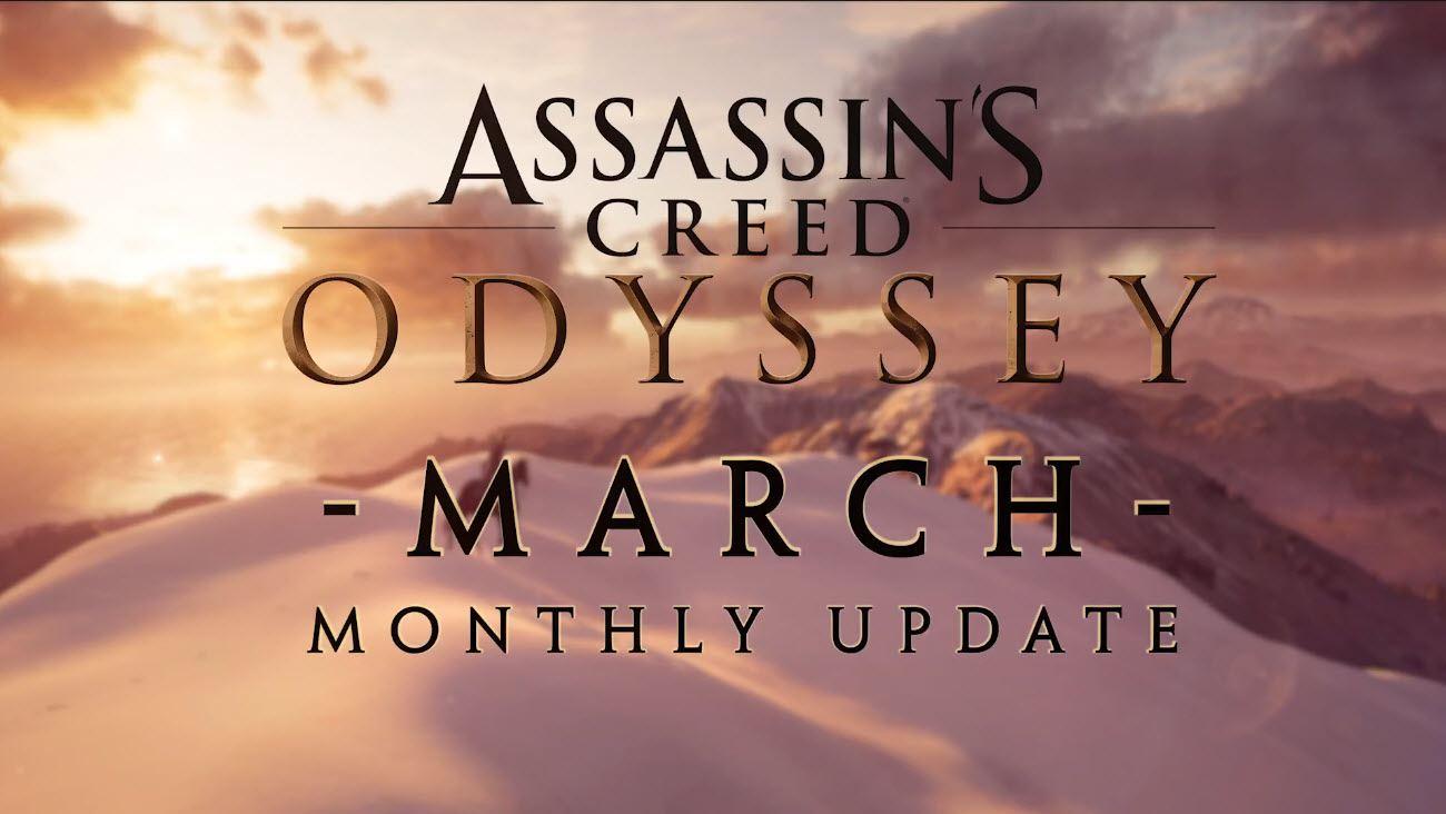 Assassin's Creed Odyssey März-Update (1)