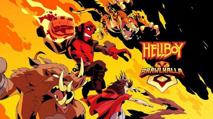 Brawlhalla: Charaktere aus dem nächsten Hellboy-Film finden den Weg ins Spiel