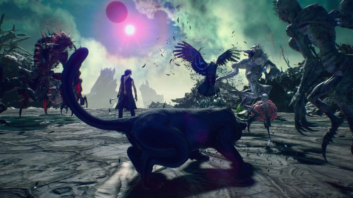 Devil May Cry 5 Special Edition: Videos zeigen Raytracing, Dark Knight Mode, Vergil und mehr