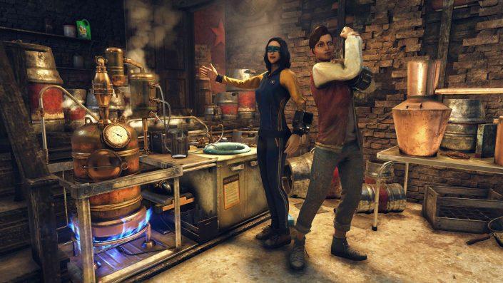 Fallout 76: Vorsicht beim Brauen – Ein Bug kann euren Charakter verschwinden lassen