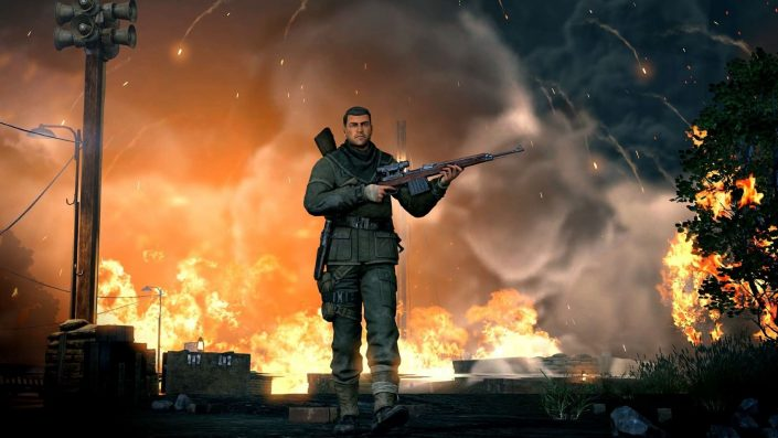 Sniper Elite VR: Der Shooter im offiziellen E3-Trailer präsentiert