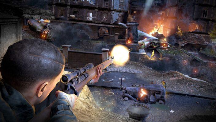 Sniper Elite V2 Remastered: Termin und Trailer mit Grafik-Vergleich