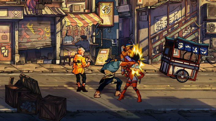Streets of Rage 4: Releasetermin auf Produktseite geleakt – Retro-Enthüllung