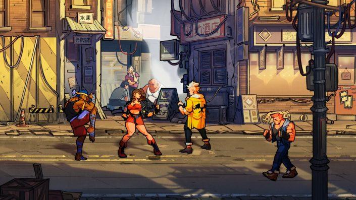 Streets of Rage 4: Update und neue Download-Zahl veröffentlicht