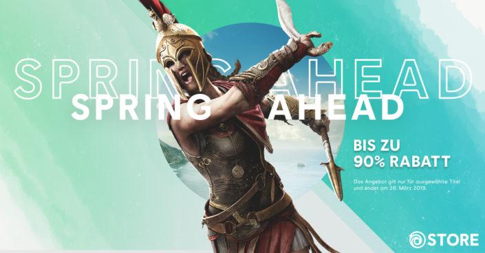 Ubisoft: Spring Sale mit Far Cry New Dawn, Trials Rising und vielen weiteren Angeboten