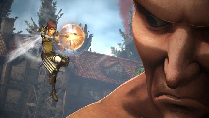 A.O.T. 2 Final Battle: Videos zeigen Gatling und Titan-Transformation aus dem Attack on Titan-Spiel