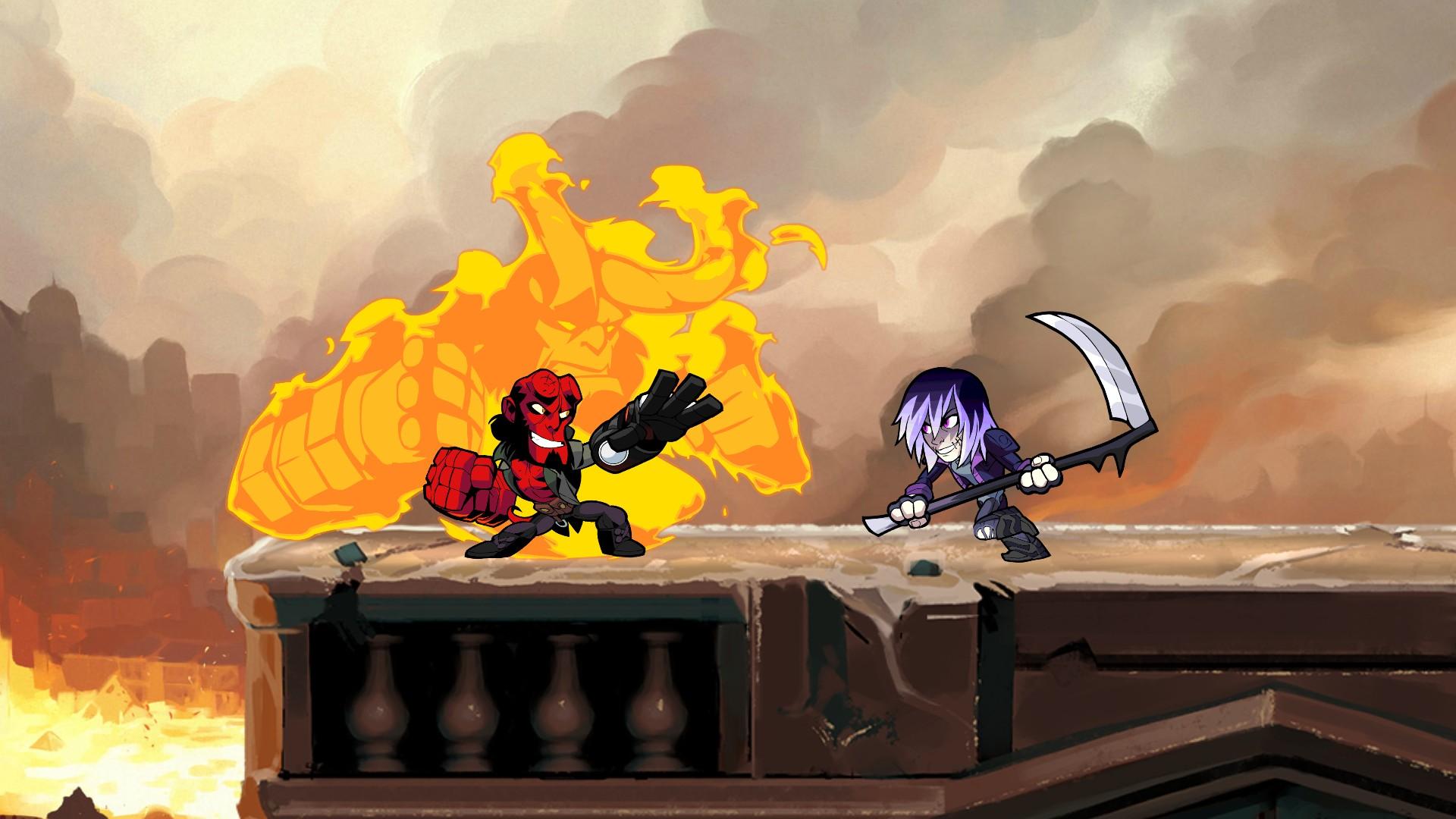 Brawlhalla Hellboy (2)