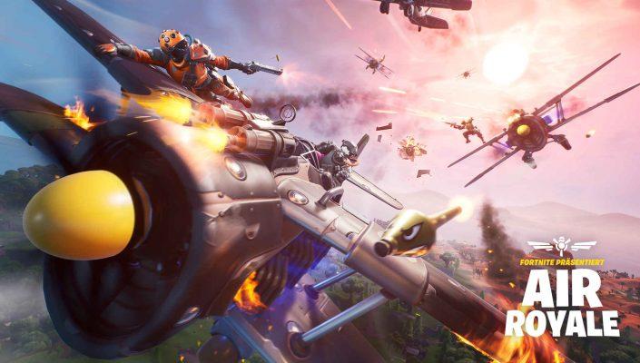 """Fortnite: Update 8.40 bringt heute """"Air Royale"""" und weitere Neuerungen"""