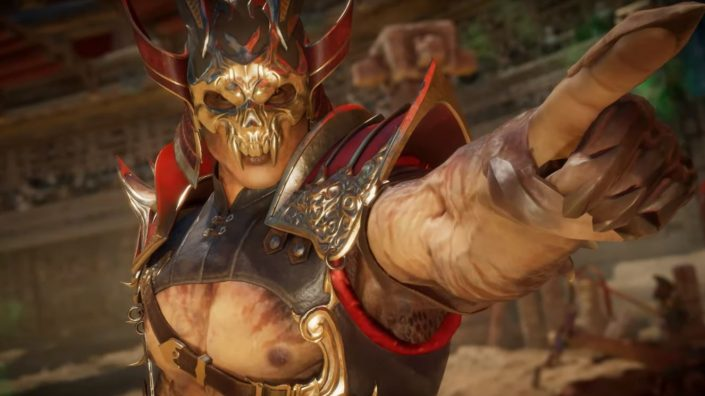 Mortal Kombat 11: Shao Kahn mit Gameplay-Trailer enthüllt