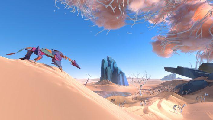 Paper Beast: Das VR-Abenteuer hat einen Termin und neuen Trailer