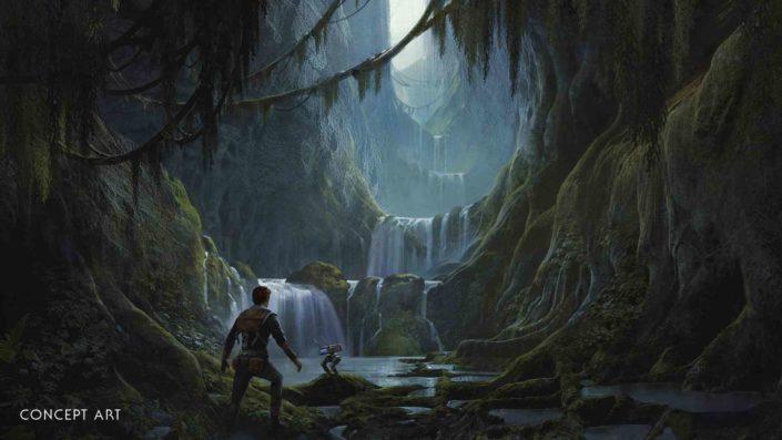 Star Wars Jedi: Fallen Order – Neue Macht-Fähigkeiten öffnen andere Wege in der halboffenen Spielwelt