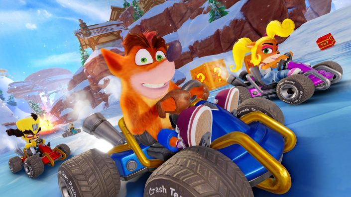 UK-Charts: Super Mario Maker 2 vor Crash Team Racing Nitro-Fueled
