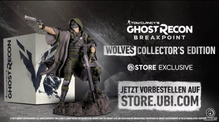 Ghost Recon Breakpoint: Leak enthüllt neuen Titel und die Sammlerausgabe