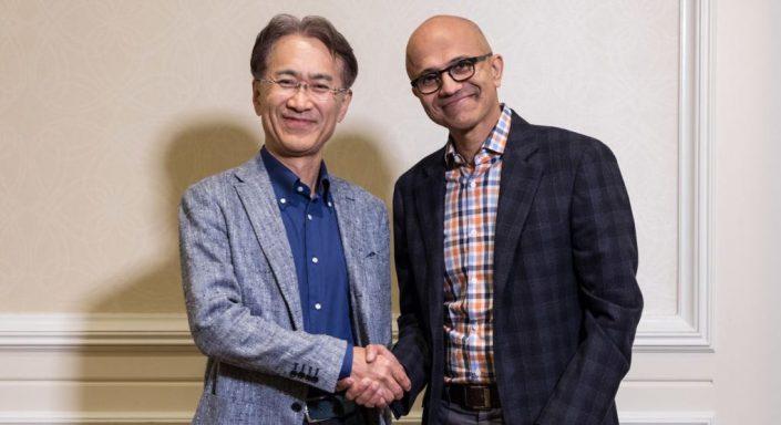 """Sony & Microsoft: Executive Vice President Katsumoto spricht von einer """"starken Partnerschaft"""""""