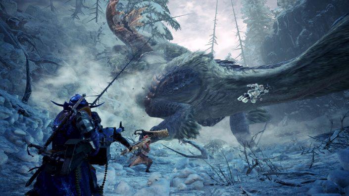 Monster Hunter World: Neuer Trailer zeigt die Raureifweite und E3-Livestream zur Iceborne-Erweiterung im Video