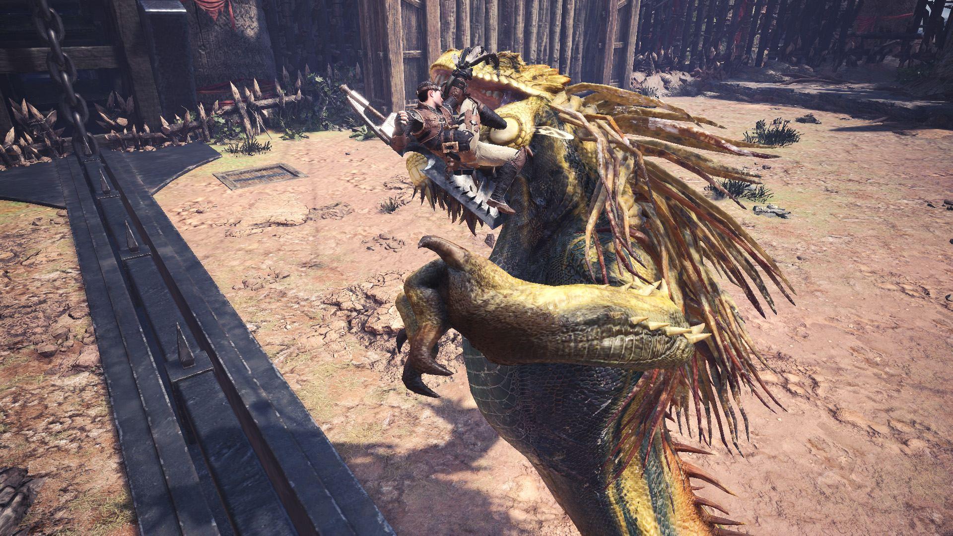 Monster Hunter World Iceborne Flinch_Shot