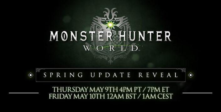 Monster Hunter World: Livestream-Enthüllung – Frühlings-Update für Freitag angekündigt