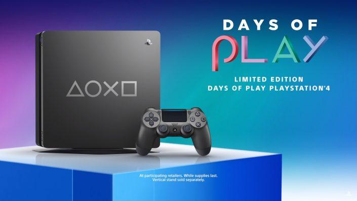 PS4 Limited Edition: Days of Play-Sondermodell steht zum Kauf bereit