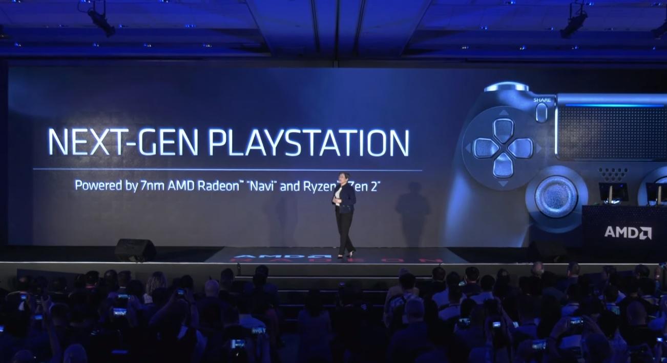 PS5 AMD Navi Zen2