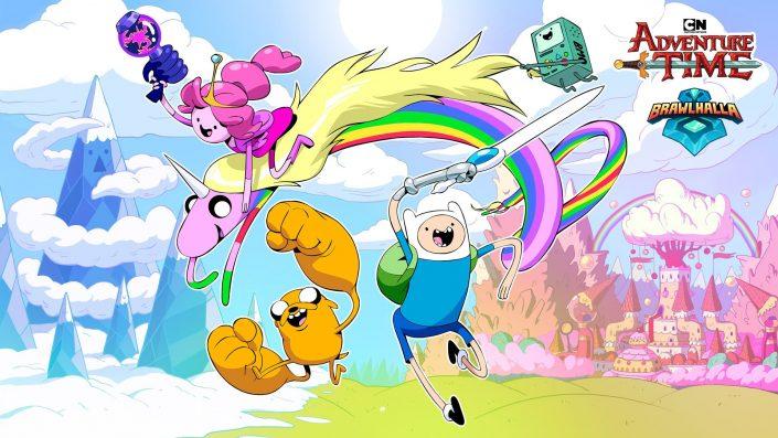 Brawlhalla: Helden aus Cartoon Networks Adventure Time verfügbar