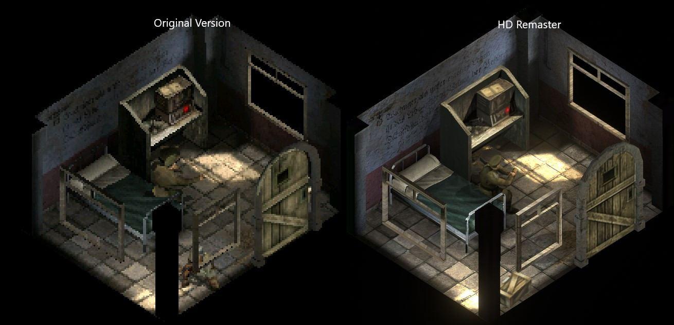 Commandos 2 HD Remastered interior