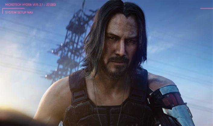 Cyberpunk 2077: Jemand anderes als Keanu Reeves kam für die Rolle nicht in Frage