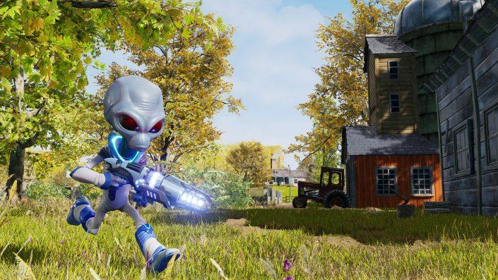 Destroy All Humans: 100 Prozent inhaltsgetreu aber deutlich mehr Spielzeit versprochen – Screenshots und erstes Gameplay (Update: Mehr Gameplay)