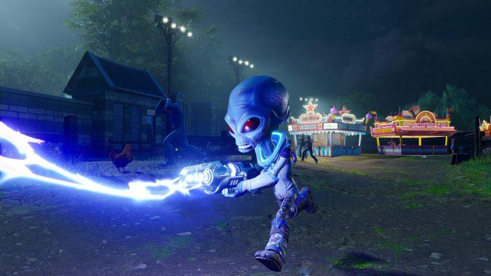Destroy All Humans: Neue Trailer stellen die Area 42 und Union Town vor