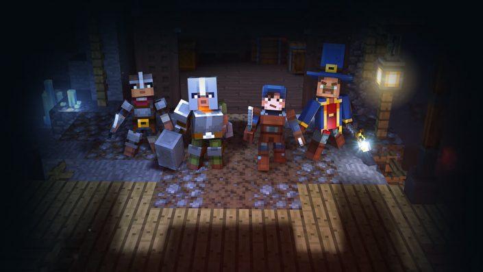 Minecraft Dungeons: Crossplay hält in wenigen Tagen Einzug