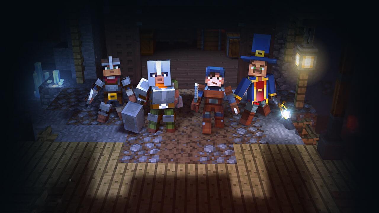 Minecraft Dungeons: Neues Entwicklertagebuch stellt die Umgebungen vor