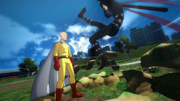 One Punch Man: Charakter-Trailer enthüllt verschiedene Kämpfer – Vaccine Man, Mosquito Girl, Carnage Kabuto und Deep Sea King