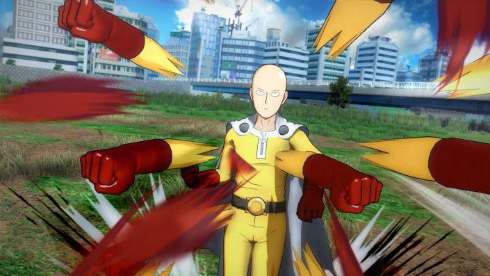One Punch Man: Neues Gameplay-Video zeigt Saitama im Kampf