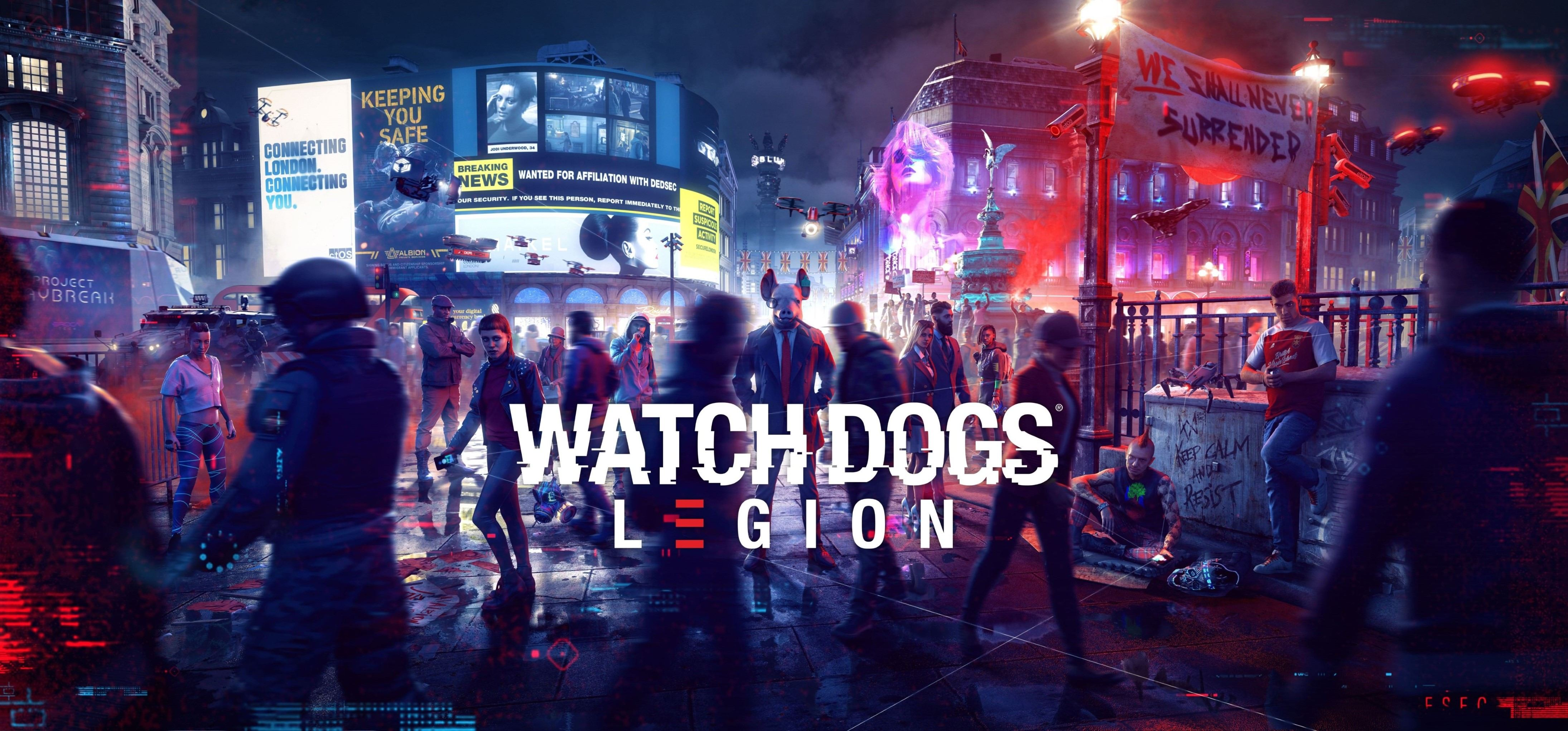 Watch Dogs Legion Artworks (1 )