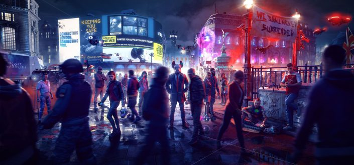 Ubisoft: Watch Dogs Legion, Gods & Monsters und Rainbow Six Quarantine verschoben