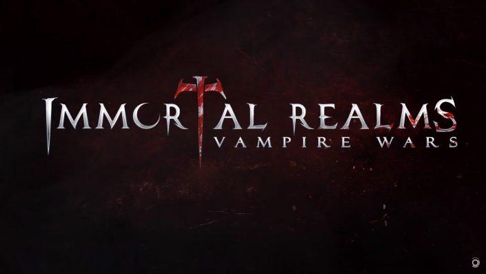 Immortal Realms – Vampire Wars: Gameplay-Mechaniken im neuen Video vorgestellt