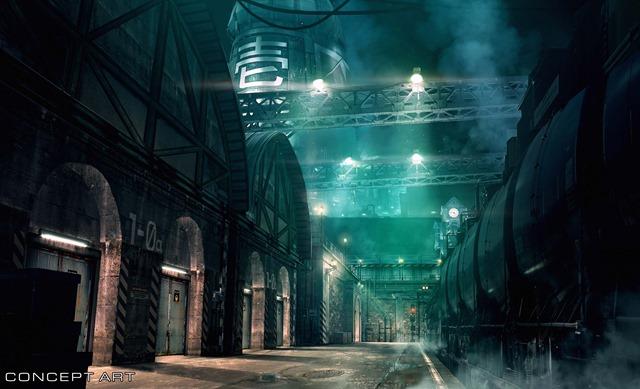 Final Fantasy VII Remake: Square Enix vergleicht Screenshots mit Konzept-Bildern