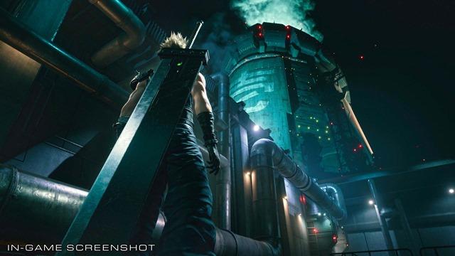 Final Fantasy VII Remake Screenshot (1)