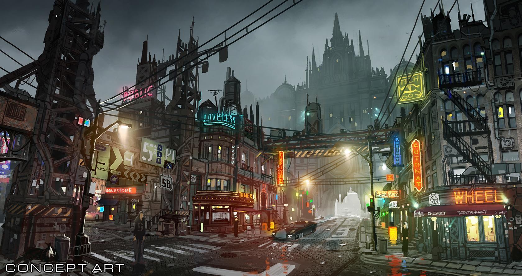 Final Fantasy VII Remake Sector 8 von Midgar (1)
