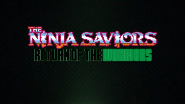 The Ninja Saviors Return of the Warriors: Reboot des Side-Scroller-Klassikers erscheint Ende nächsten Monats