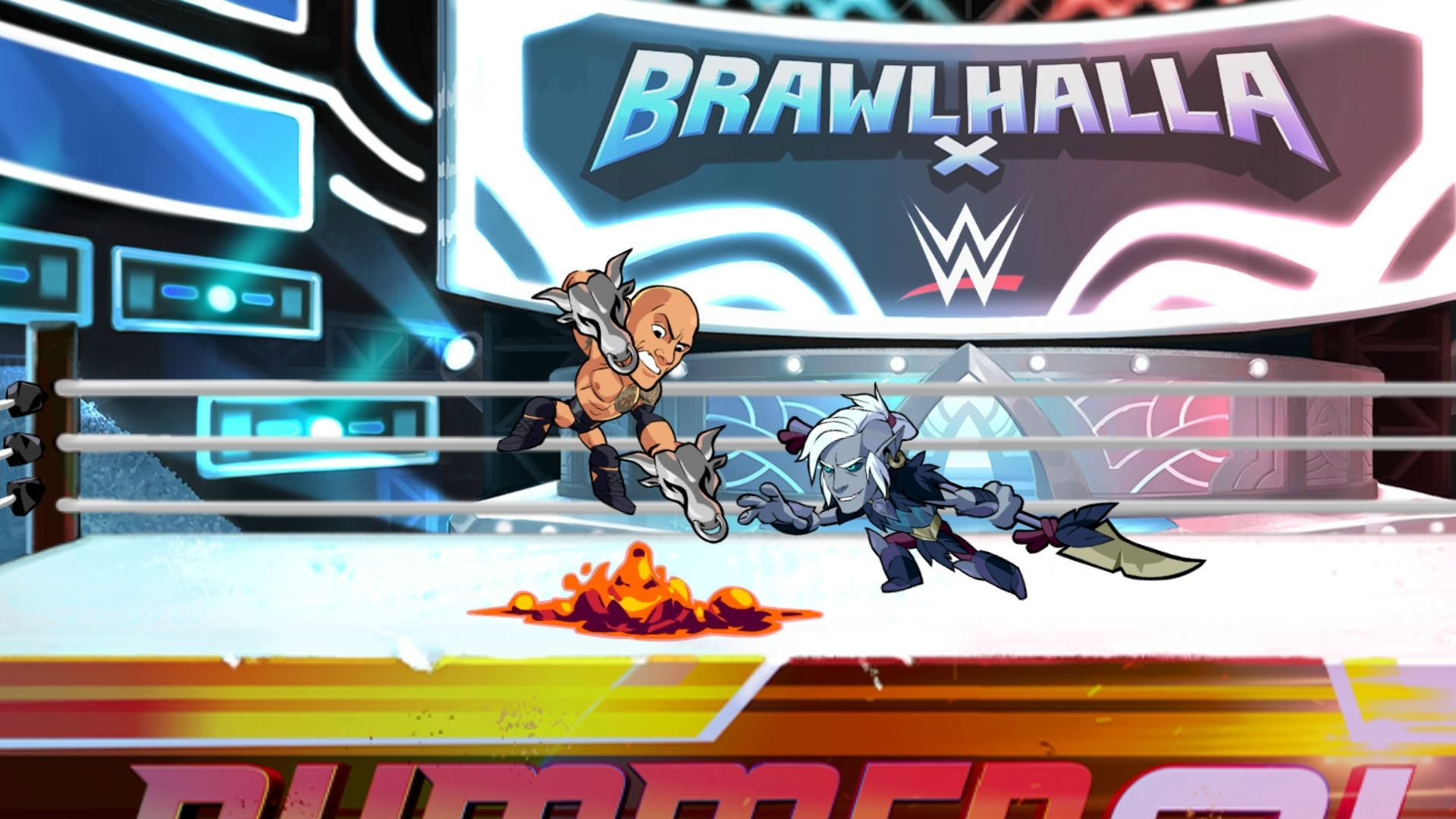 Brawlhalla WWE Event – THE_ROCK_19