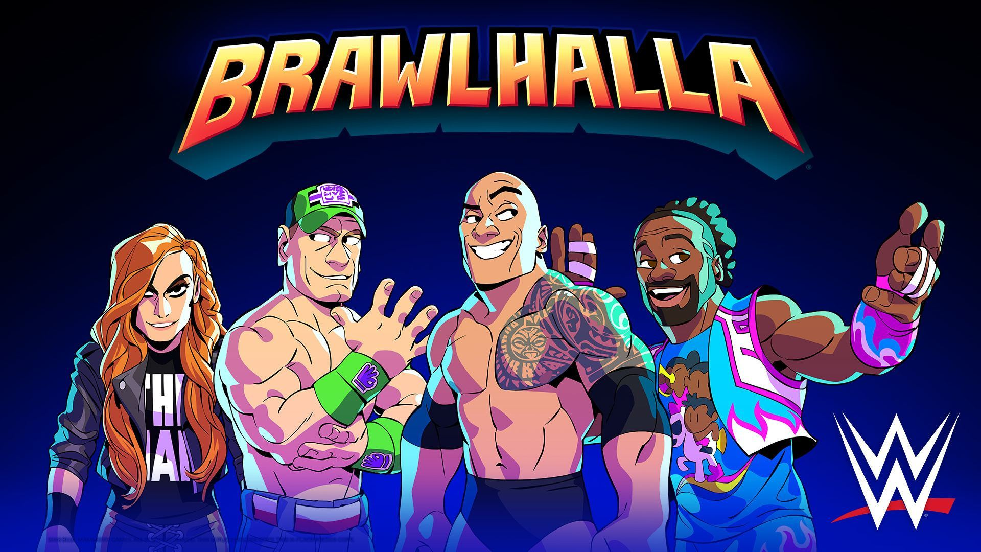 Brawlhalla WWE Event – WWEsplashLogos