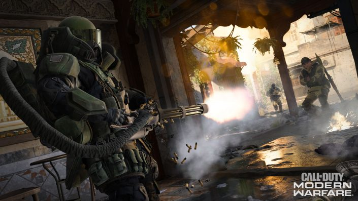 UK-Charts: CoD Modern Warfare wieder an der Spitze