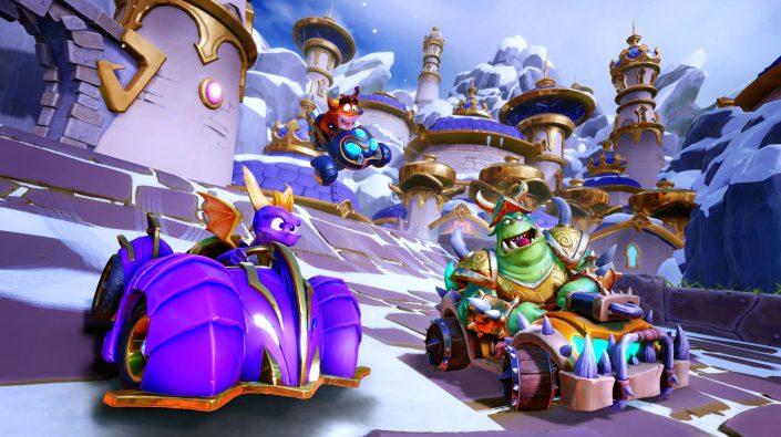 Crash Team Racing Nitro-Fueled: Spyro & Freunde-Grand Prix bringt neue Inhalte – Trailer