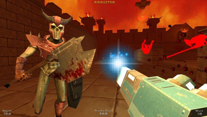 Demon Pit: Neuer Arcade-Arena-Shooter im Retro-Stil mit Trailer angekündigt