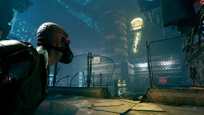 Ghostrunner: Ein Trailer und frisches Gameplay zum rasanten Cyberpunk-Abenteuer