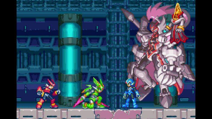 Mega Man Zero/ZX Legacy Collection: Z Chaser-Modus im Trailer vorgestellt