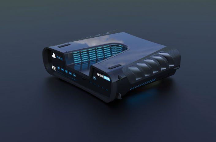 PS5: Foto zeigt Dev-Kit und Controller – Erklärung für das V-Design