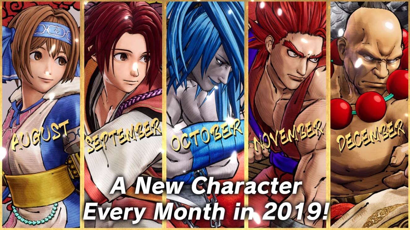 Samurai Shodown DLC Charaktere