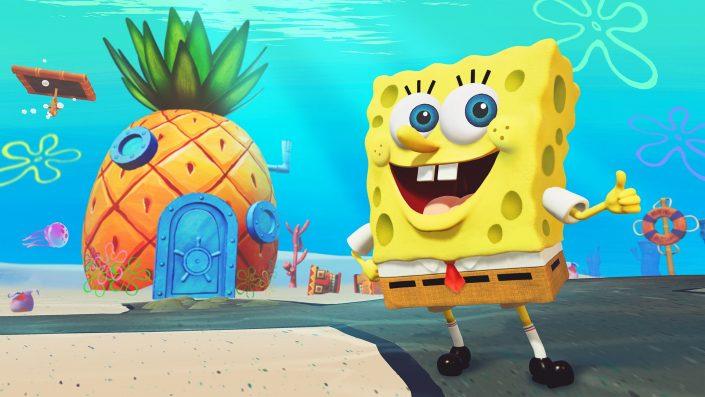 SpongeBob SquarePants: Battle for Bikini Bottom Rehydrated – Gameplay-Video von der Gamescom