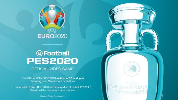 eFootball PES 2020: Der kostenlose UEFA Euro 2020-DLC hat einen Termin